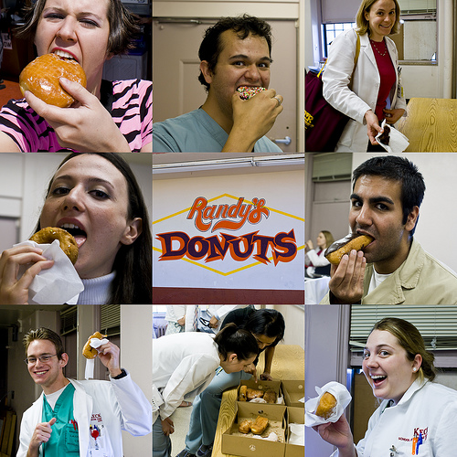 Hospital Workers Fight Donut Virus