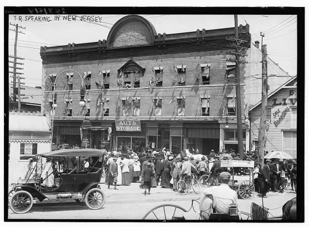 Teddy Roosevelt in New Jersey