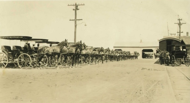 Steamboat Wharf, Nantucket 1900 Taxi Stand