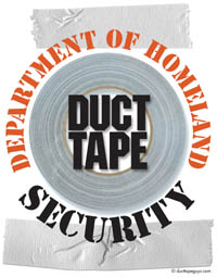 DuctTapeGuys Department of Homeland Security Logo