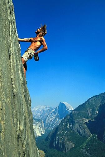 Free climber credit