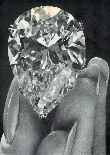 This is what a 69.42 carat diamond looks like. .